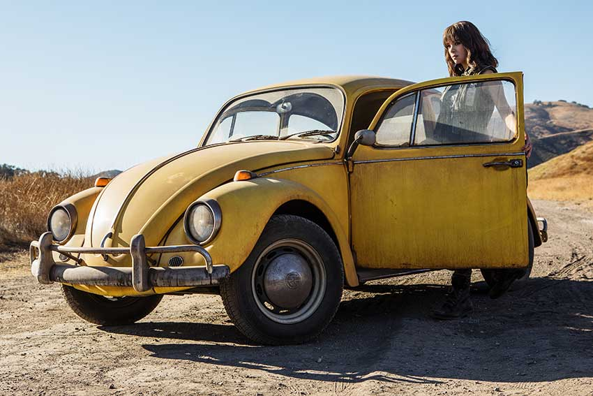 Hailee Steinfeld in Bumblebee movie