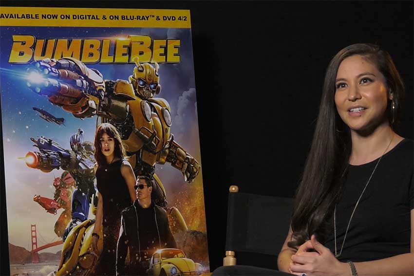 Bumblebee Screenwriter Christina Hodson