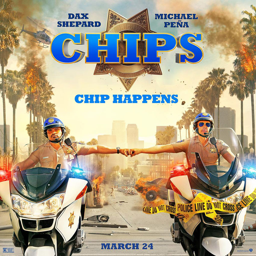 CHIPs movie poster 2016