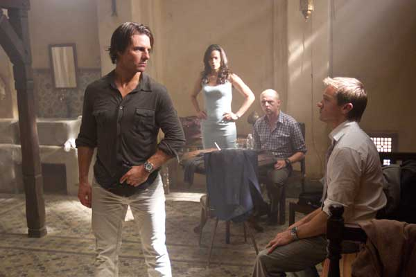 Mission Impossible Ghost Protocol Tom Cruise, Jeremy Renner, Paula Patton, Simon Pegg