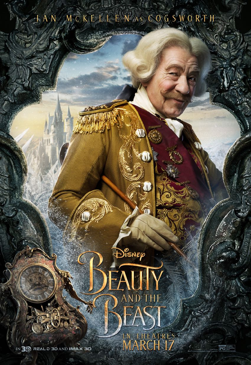 Beauty and the Beast posters Ian McKellan