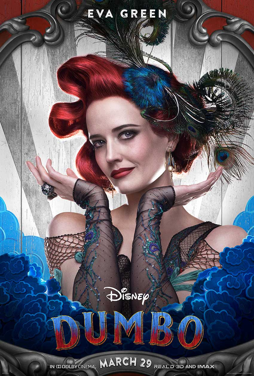 Dumbo movie Eva Green character poster