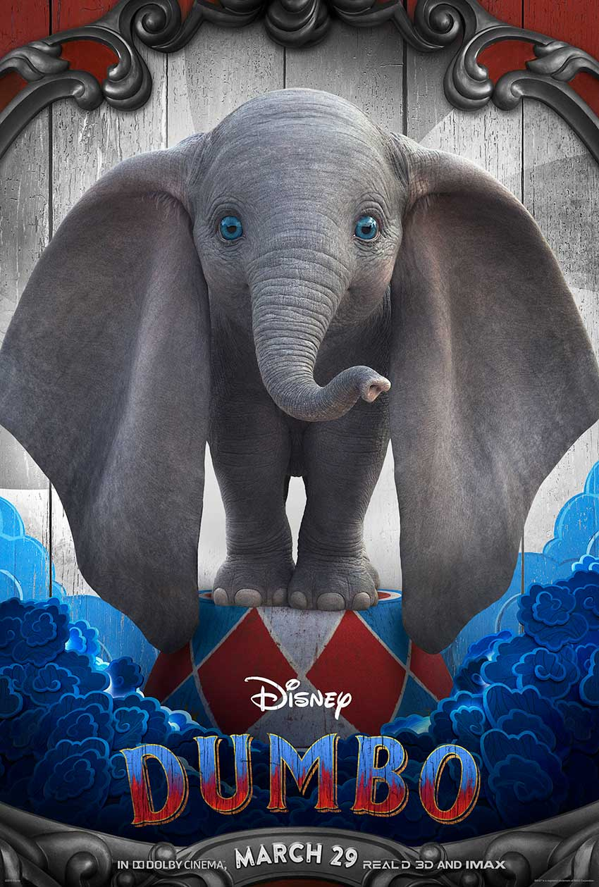 Dumbo movie character poster