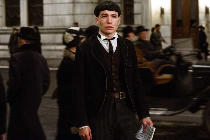 Fantastic Beasts And Where To Find Them Ezra Miller