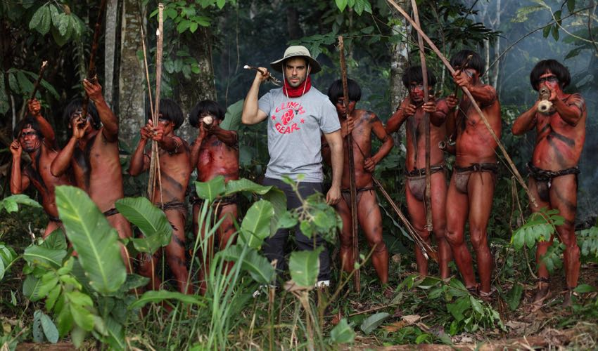 The Green Inferno S Eli Roth And Cast Talk Difficult Shoot In