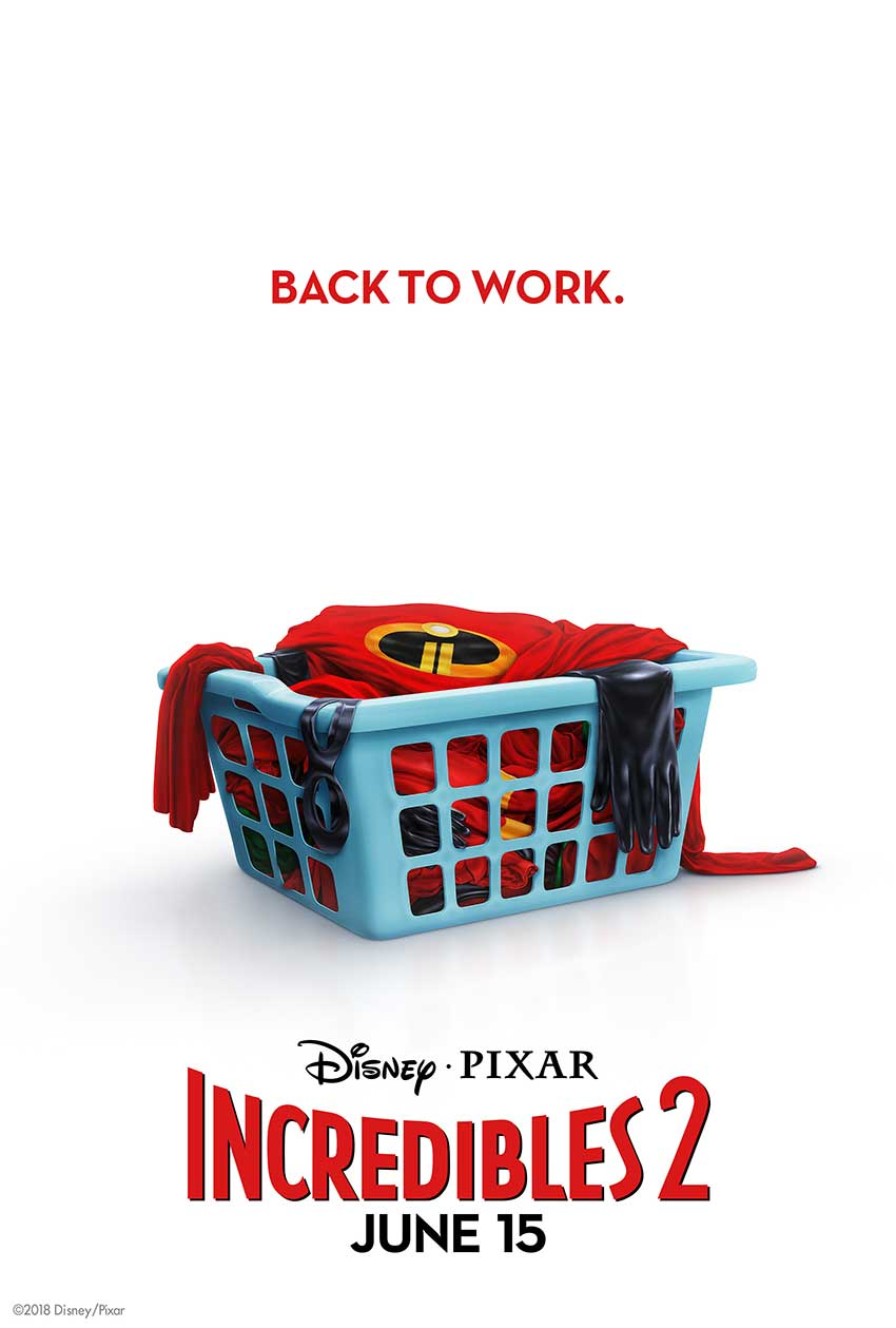 Incredibles 2 movie poster2