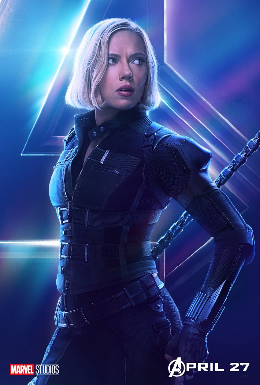 Avengers Infinity War Character Black Widow