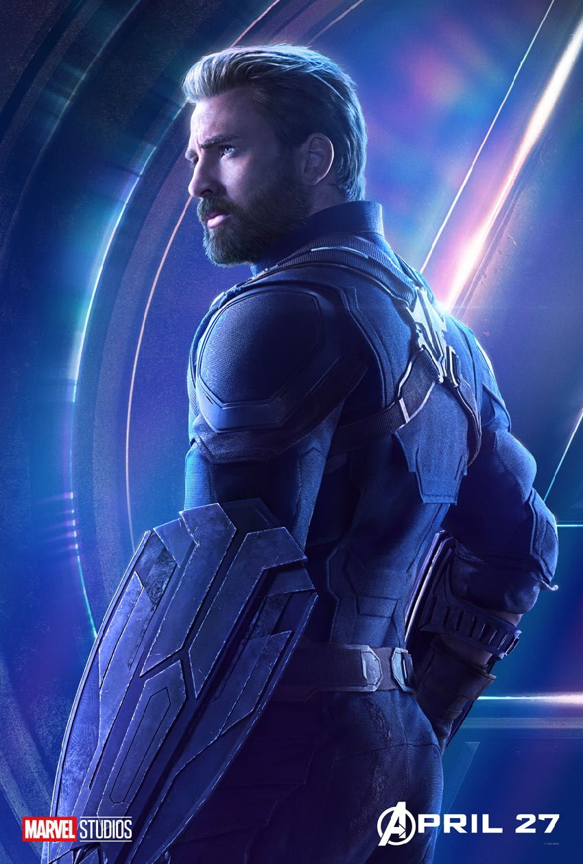Avengers Infinity War Character Captain America