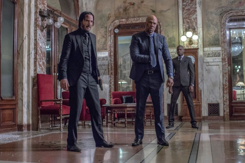John Wick Chapter 2 Keanue Reeves Common