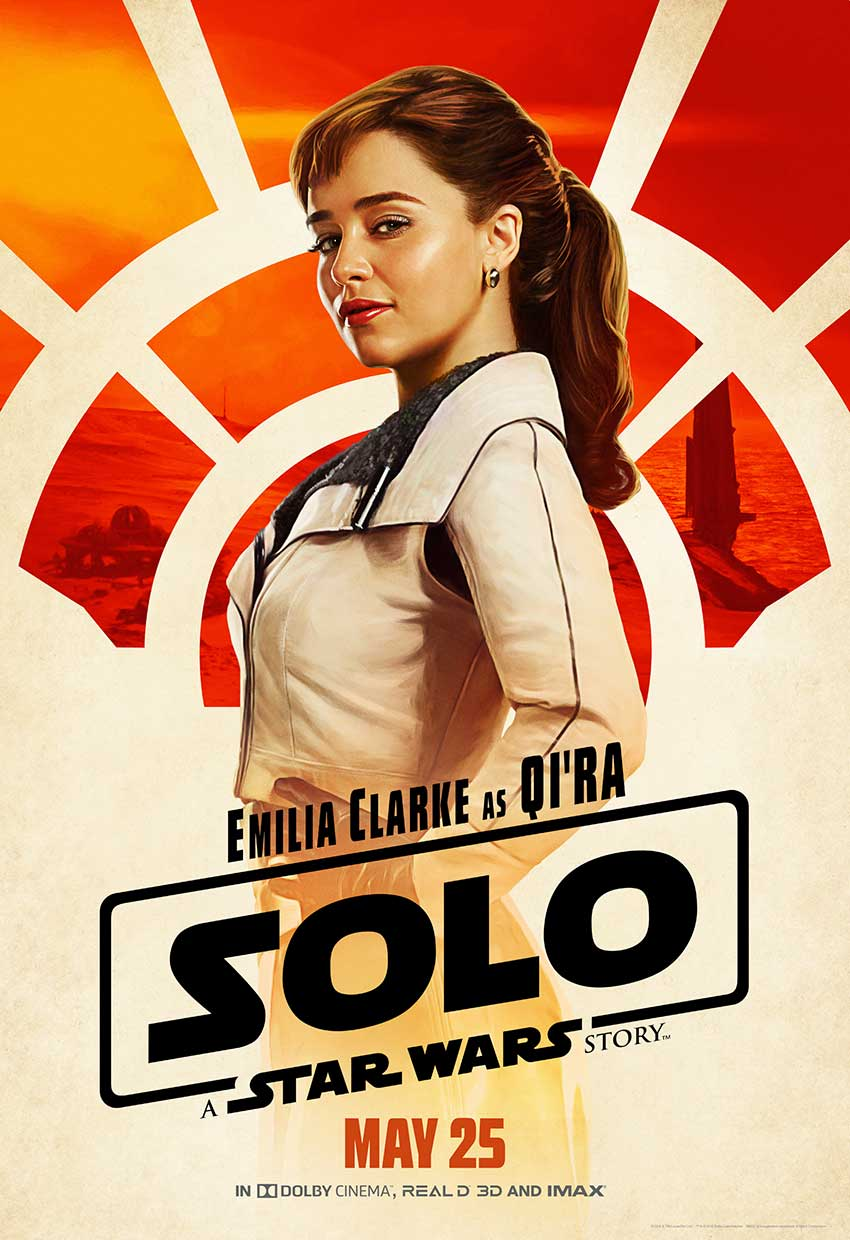 Solo Qira Star Wars movie poster