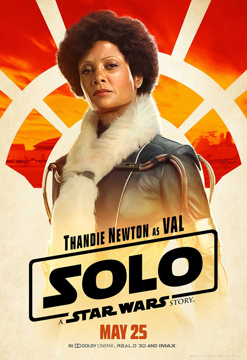 Solo Val Star Wars movie poster