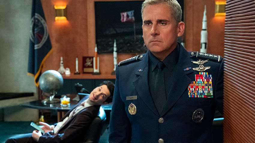 Space Force Netflix Steve Carell