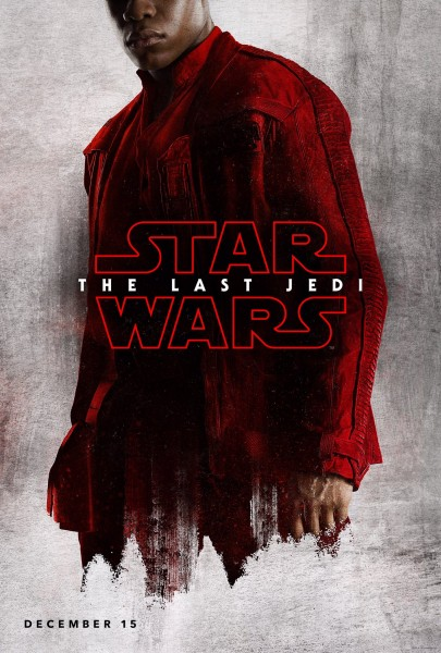 star wars the last jedi poster finn