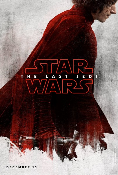 star wars the last jedi poster kylo ren