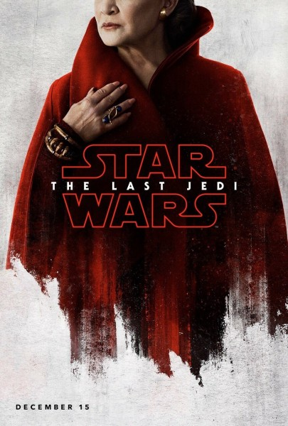 star wars the last jedi poster leia