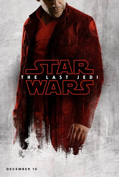 star wars the last jedi poster poe dameron