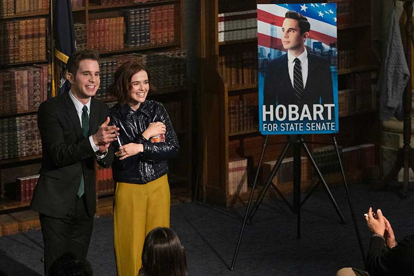 POLITICIAN season2 Ben Platt Zoey Deutch