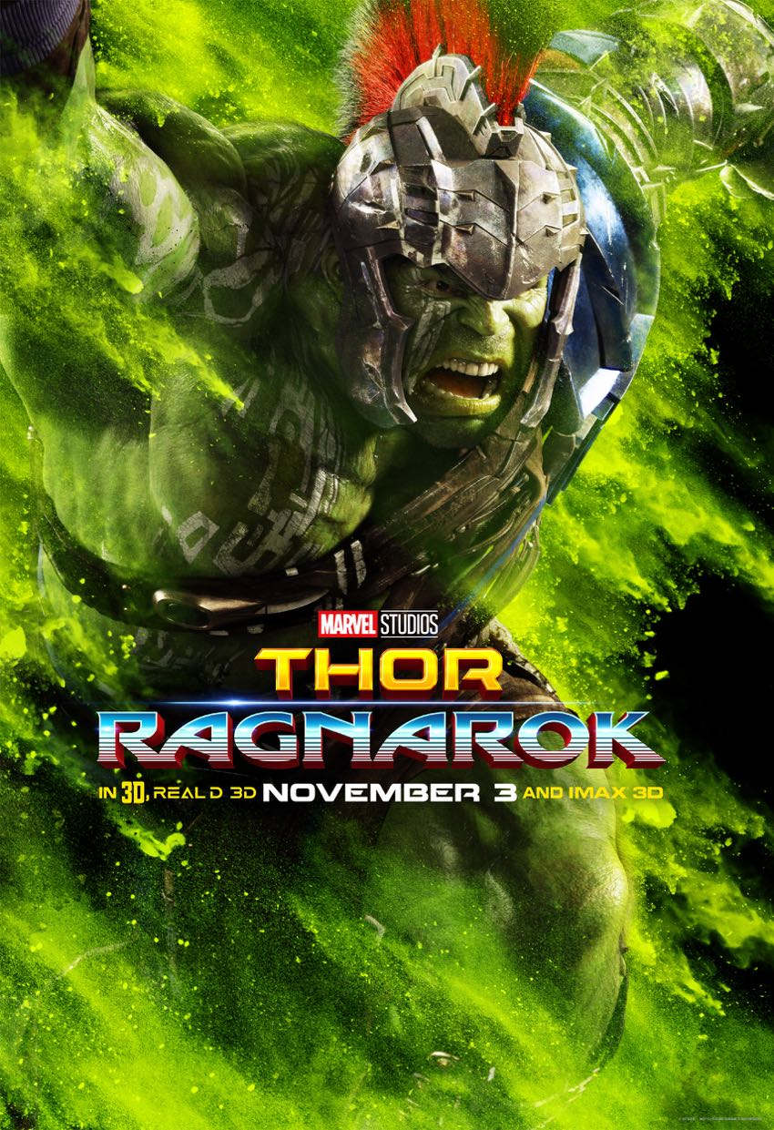 Thor Ragnarok Character Posters 3