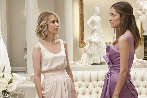 BRIDESMAIDS Kristin Wiig and Rose Byrne