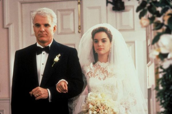 FATHER OF THE BRIDE Steve Martin and Kimberly Williams-Paisley