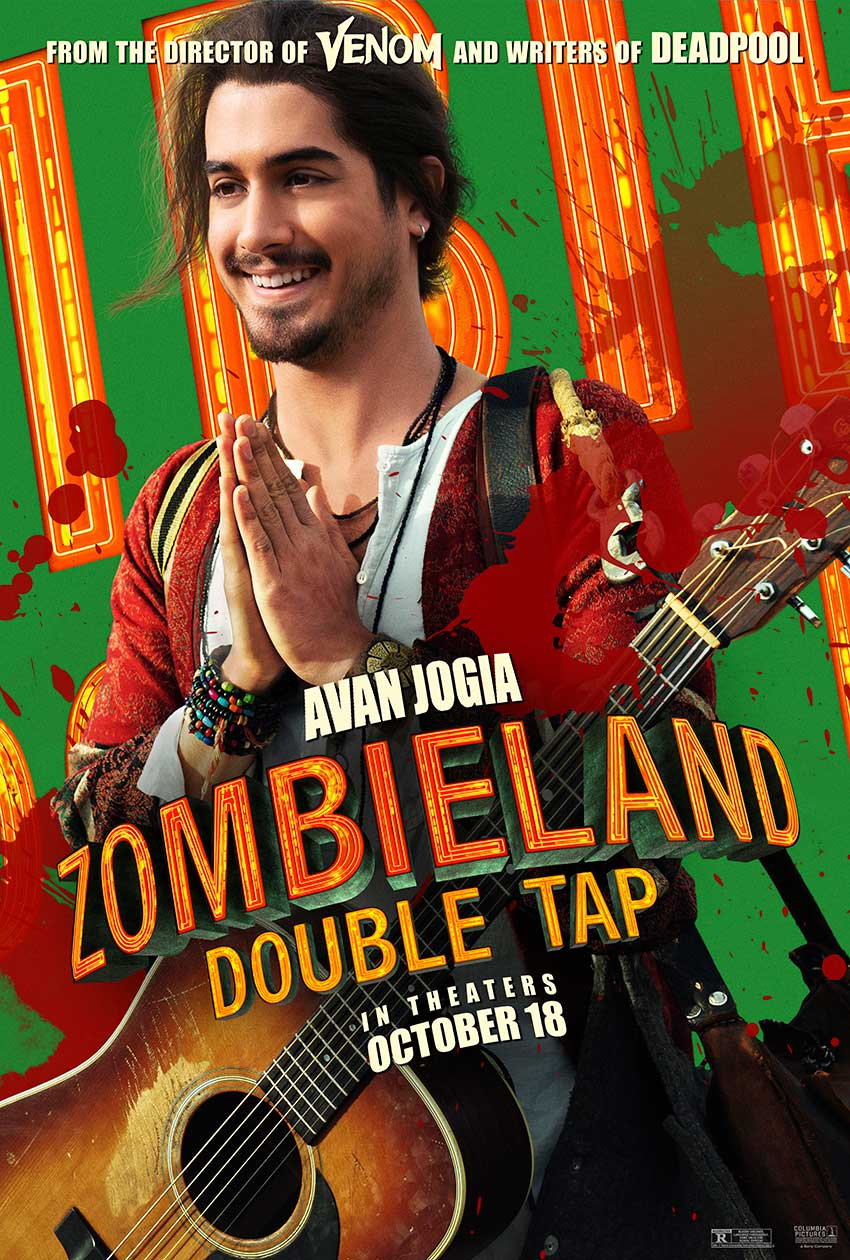 Zombieland Double Tap New Guy movie poster