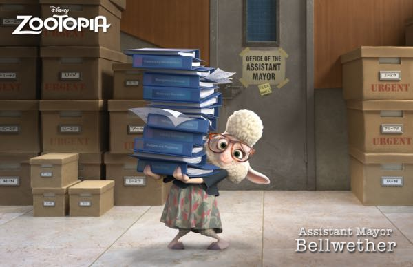 Zootopia movie characters 1
