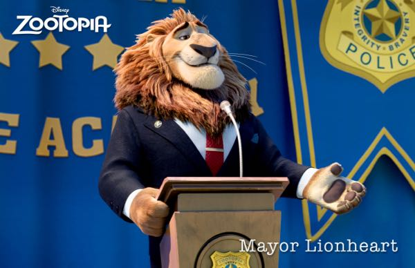 Zootopia movie characters Mayor Leodore