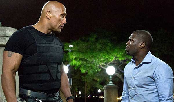 Central Intelligence movie Dwayne Johnson Kevin Hart
