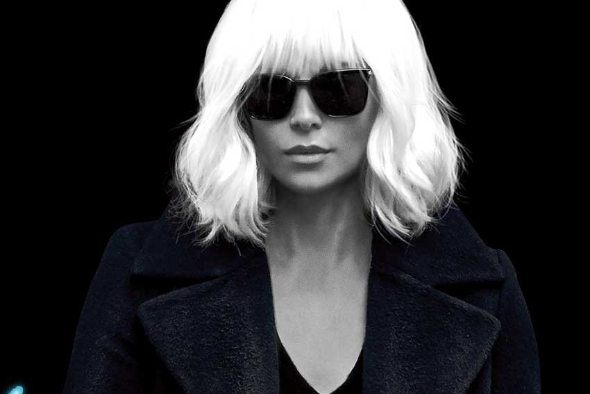 Charlize Theron Atomic Blonde movie poster image