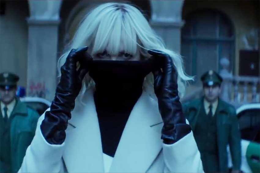 Charlize Theron Atomic Blonde