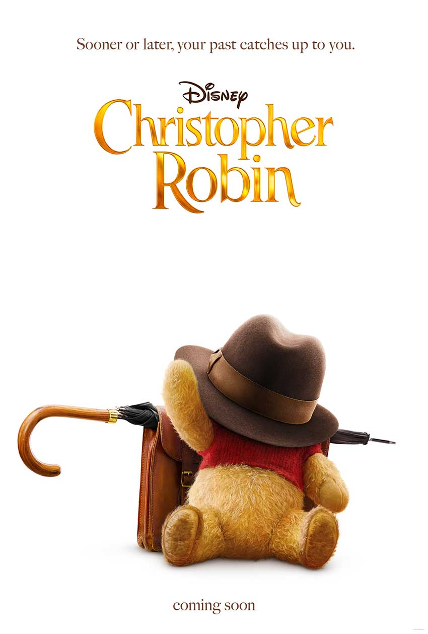 Christopher Robin Disney movie poster