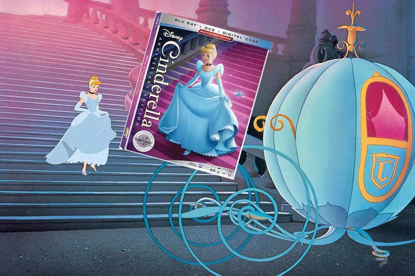 Cinderella Anniversary Edition Bluray giveaway