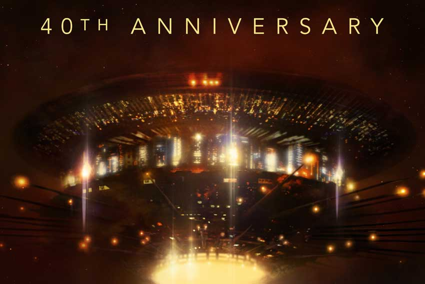 Close Encounters of the Third Kind 40th Anniversary poster image