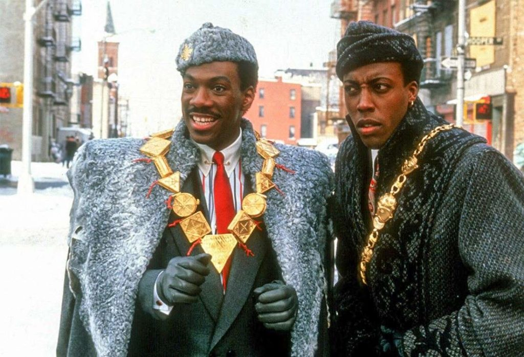 Coming to America Eddie Murphy Arsenio Hall