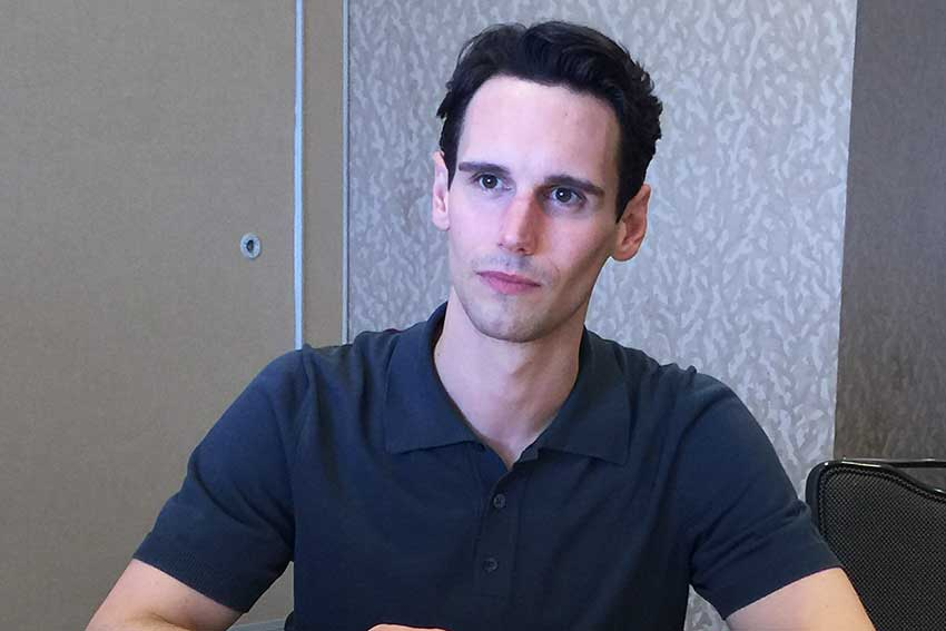 Cory Michael Smith Gotham Interview