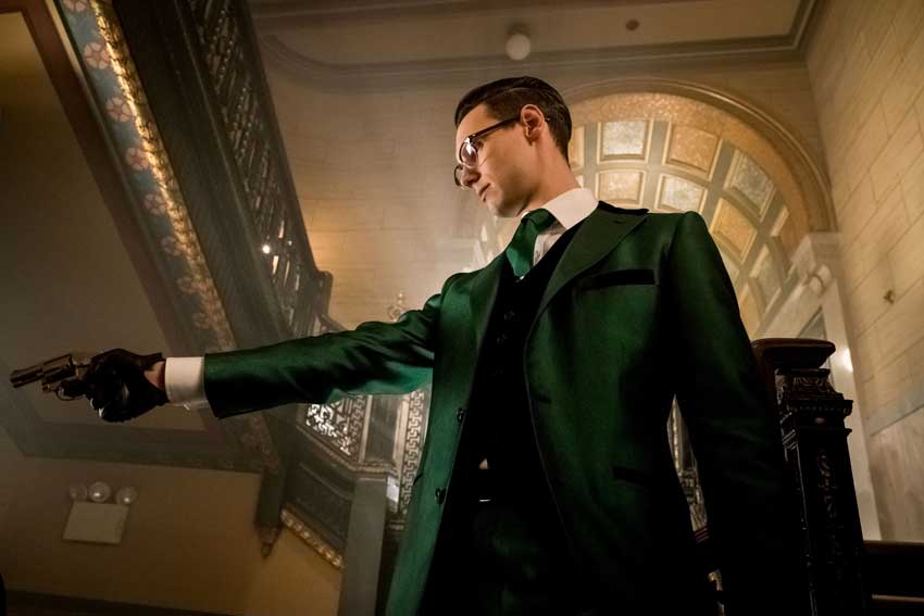 Cory Michael Smith Gotham Riddler