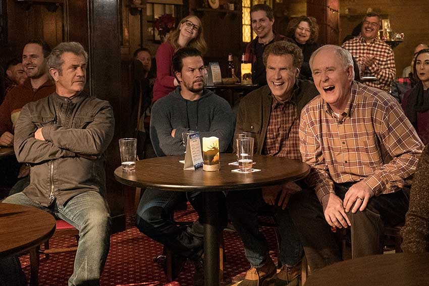 Daddy's Home2 Mel Gibson Mark Wahlberg Will Ferrell John Lithgow