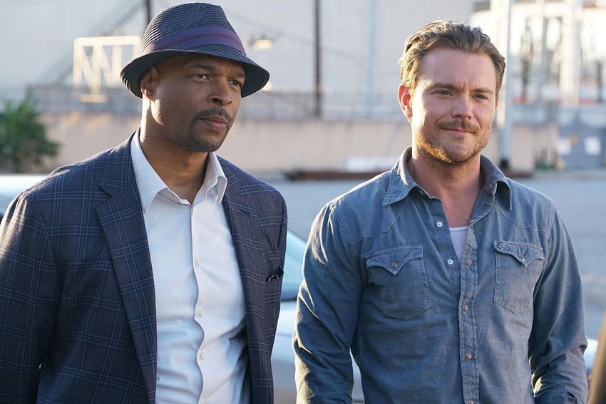 Damon Wayans and Clayne Crawford Lethal Weapon