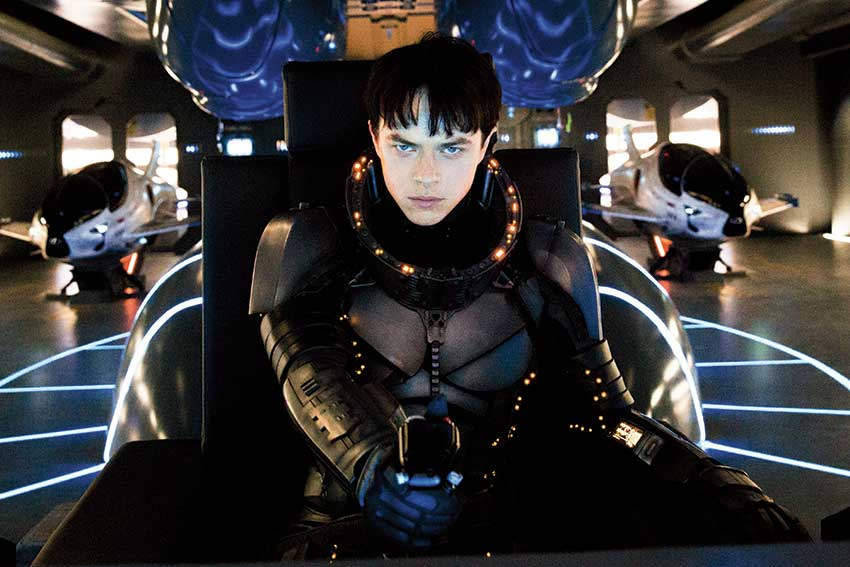 Dane DeHaan Valerian City of Thousand Planets