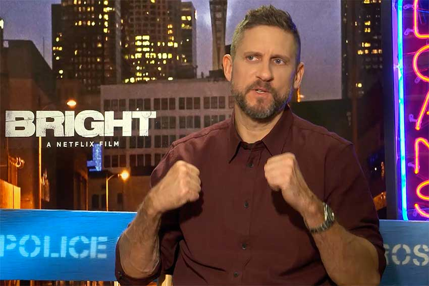 David Ayer Interview Bright Netflix