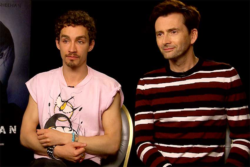 David Tennant Robert Sheehan Bad Samaritan Interview