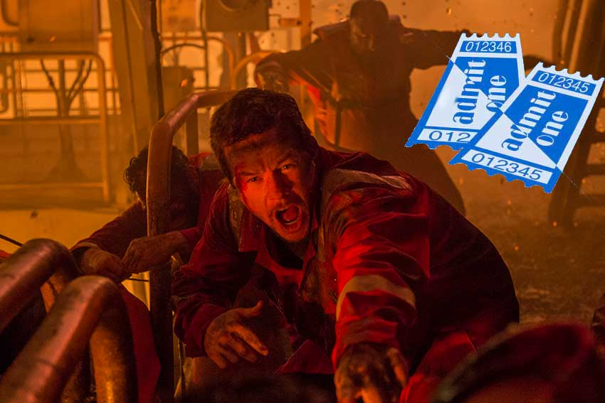Deepwater Horizon ticket giveaway