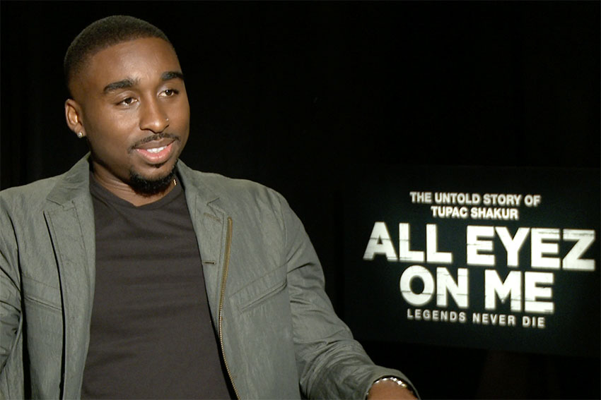 Demetrius Shipp Jr All Eyez on Me Tupac