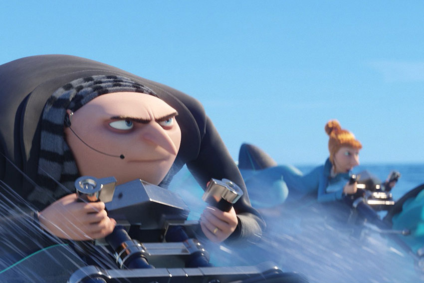 Despicable Me 3 Gru and Lucy