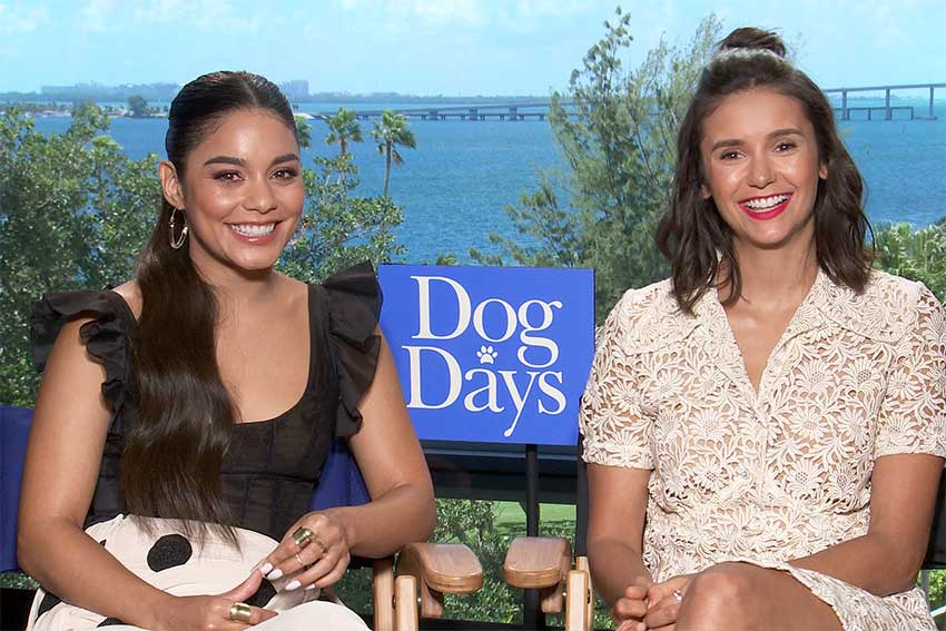 Dog Days Nina Dobrev Vanessa Hudgens interview