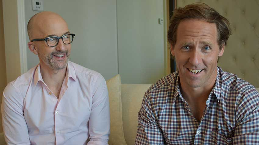 Downhill Directors Nat Faxon Jim Rash
