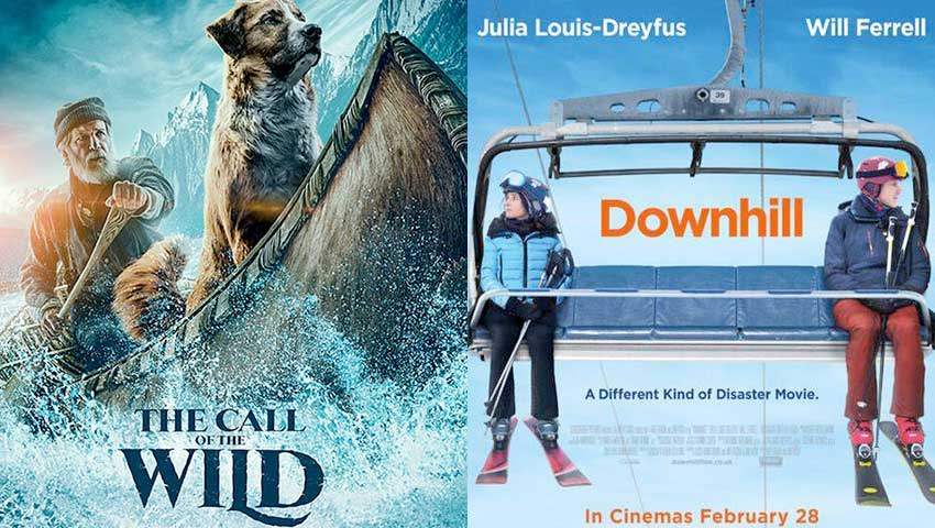 Downhill and Call of the Wild movies on VOD