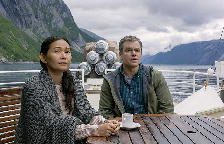 Downsizing movie Matt Damon Hong Chau