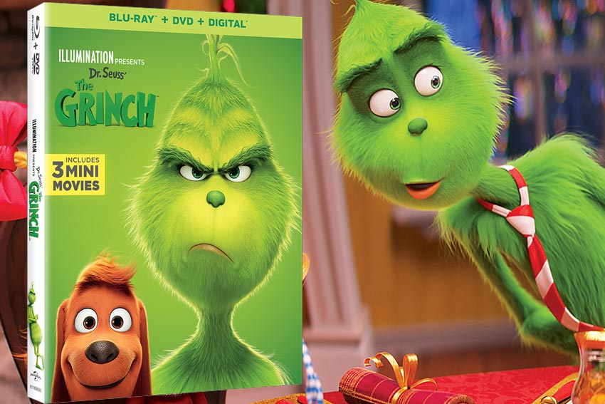 Dr. Seuss The Grinch DVD Giveaway