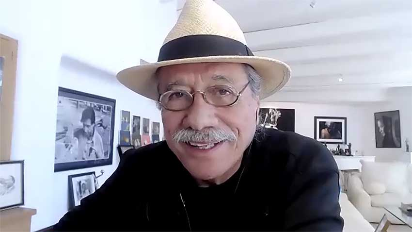 Edward James Olmos CineMovie interview